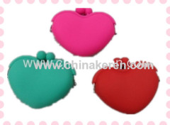 Silicone coin purse for promotion