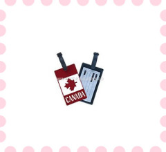 fashion cheap pvc luggage tag and Customized cards