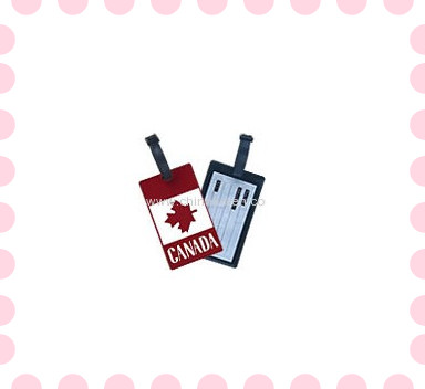 2013 Hot sale PVC luggage bag card