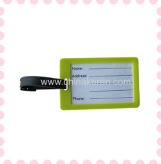 2013 Customized fancy travel pvc luggage tag