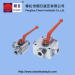 high quality 3port/4port ball valve