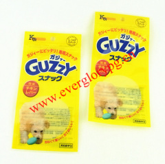 ziplock dog food packaging bag