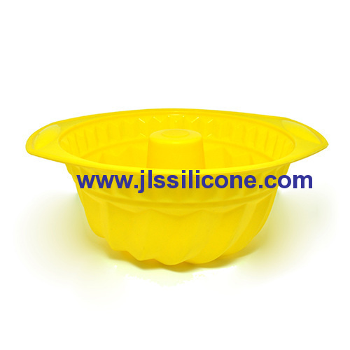 easy hold silicone bundt cake molds with holder