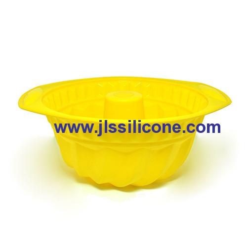 easy hold Silicone bundt cake pans OEM&ODM Manufacturer