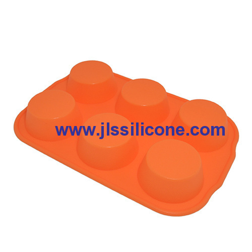 6-cavity silicone chocolate molds