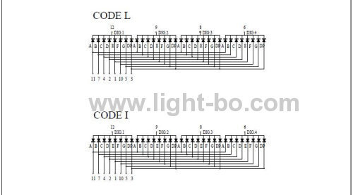4 digit 0.56 inch ultra bright White Common Anode 7 Segment LED Display