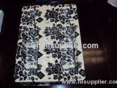 plastic blister packaging tray with decorative pattern