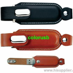 Leather Usb Flash Disk