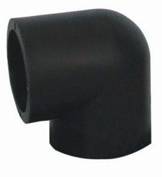 Hot sale PE Socket Fusion Fittings PE Elbow 90D