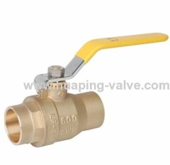 Manual Lead Free Brass Ball Valve