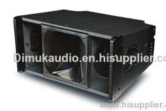 line array speaker audiosystem