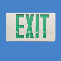 Led Emergency warning exit sign china