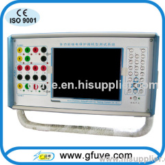 Three Phase Current and Voltage Relay Test System