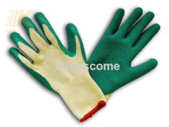 Latex Coated Polycotton Gloves