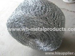 FLAT RAZOR BARBED WIRE COIL