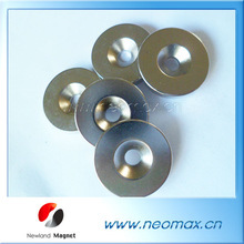 neodymium magnet with countersunk