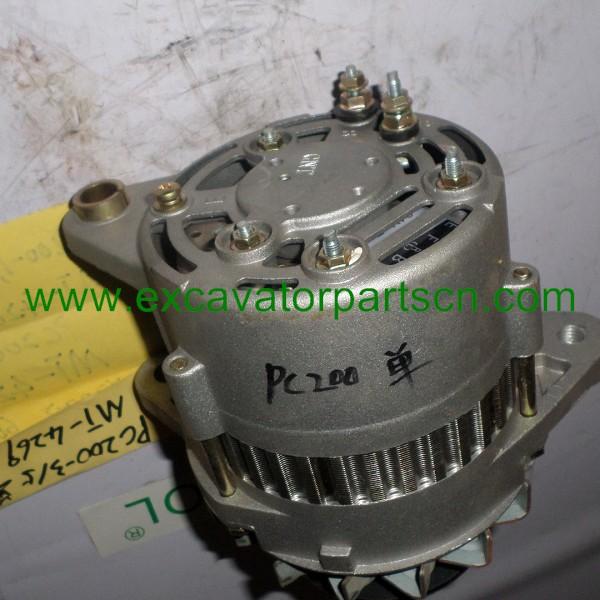 Alternator single groove for KOMATSU PC200-3 PC200-5 600-821-6120 0-33000-5860