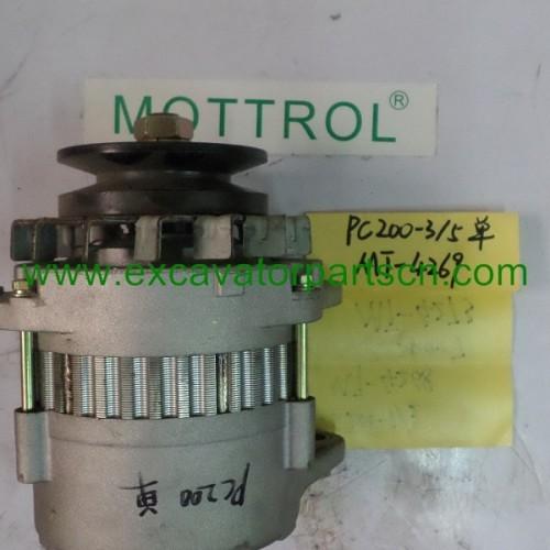Alternator single groove for PC200-3 PC200-5 600-821-6120 0-33000-5860