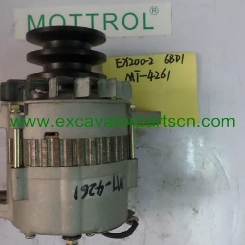 Alternator for EX200-2 6BD1 1-81200-440-2 0-33000-6552