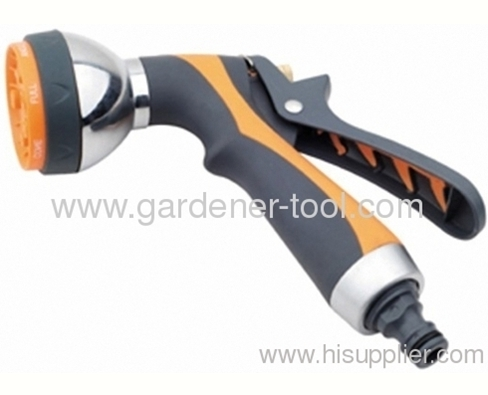 7-function Luxurygarden water trigger nozzle with softgrip