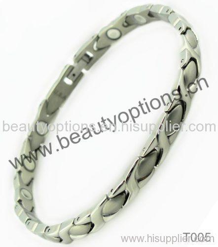 Titanium Germanium Magnetic Bracelet