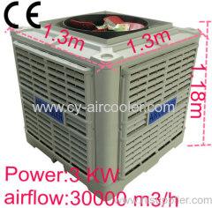 3 kw 30000 m3/h 60HZ Climatizador evaporativo