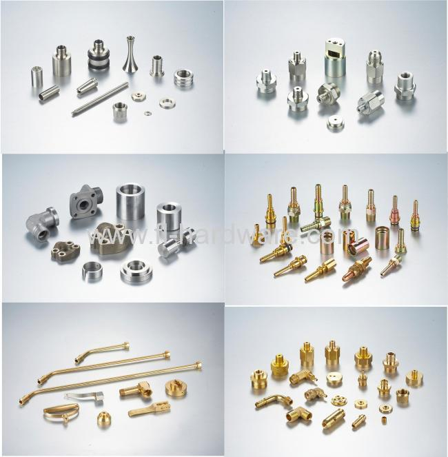 Precision brass fitting OEM parts with good quality and big quantity China