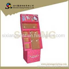 cardboard displsy display stand display rack