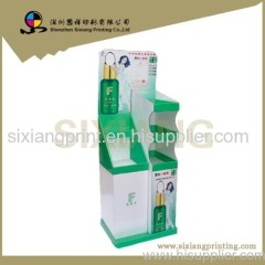 retail display cardboard display stand display shelf display rack