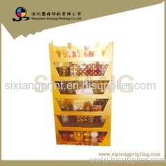 retail stand corrugated display stand display rack