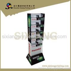 display shelf cardboard display stand promotion display