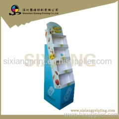 advertising display stand cardboard display shelf display rack