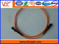 High stability MTRJ fiber optic connector
