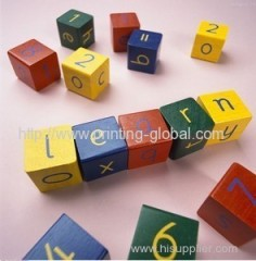 Hot stamping film for toy bricks of children toys