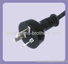 Argentina power cord with 3 pin plug