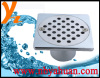 10*10cm zinc alloy floor drains
