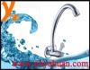 Single handle zinc alloy kitchen faucet