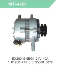 Alternator for EX200-5 6BG1 24V 40A 1-81200-471-0 0-35000-3872