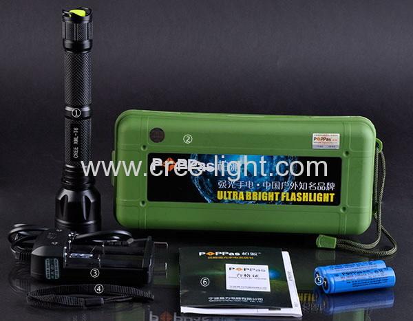 CREE XM-L T6 500 lumens 10W Super Power Explore Lighting ACK-1137