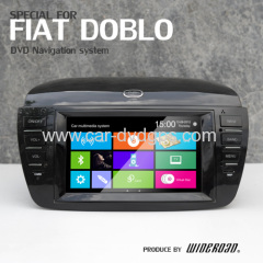 fiat boblo car multimedia system supplier internet radio mp4 player lcd tv ipod
