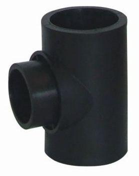 2013 hot sale PE Socket Fusion Fittings PE Reduced Tee