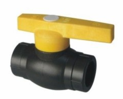 2013 hot sale PE Socket Fusion Fittings PE brass ball valve