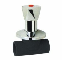 2013 hot sale PE Socket Fusion Fittings PE Stop Valve (B)