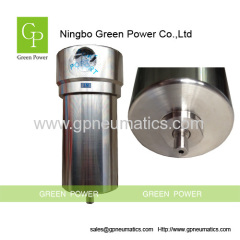 Stainless steel gas filter