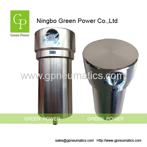 High pressure stainless steel air strainer