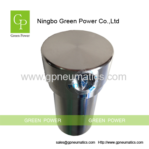 Noncorroding stainless steel air strainer