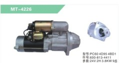 EXCAVATOR PC60 4D95 4BD1 STARTING MOTOR