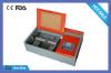 Laser rubber stamp maker