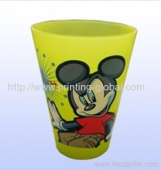 Heat transfer films/Thermal transfer tapes for plastic cups