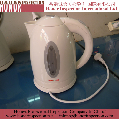 Plastic Kettle Pre-shippment Inspection